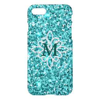Blue Glitter iPhone 8/7 Case