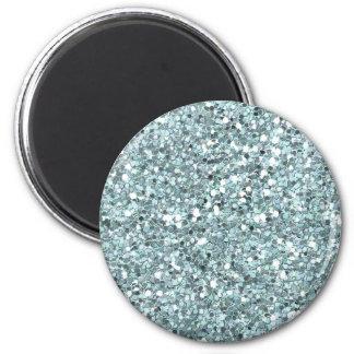 Blue Glitters Magnet
