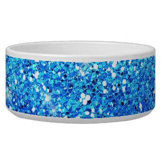 Blue Glitters Sparkles Texture