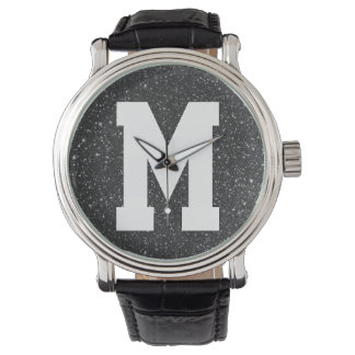 Blue Glitz Superstar Monogram Watch