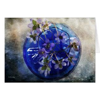 Blue Glory Card