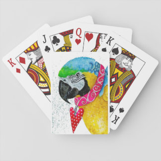 Blue & Gold Macaw Playing Cards