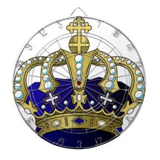 Blue & Gold Royal Crown Dart Boards