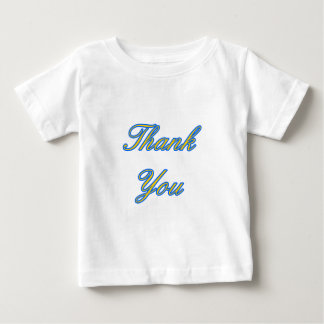 Blue Gold Thank You Design The MUSEUM Zazzle Gifts Shirt