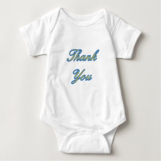 Blue Gold Thank You Design The MUSEUM Zazzle Gifts Shirts