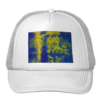 Blue Gold Trucker Hat