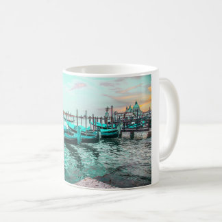 Blue Gondolas in Venice Mug