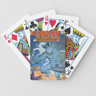 Blue Gorgo Bicycle Playing Cards