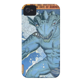 Blue Gorgo iPhone 4 Covers