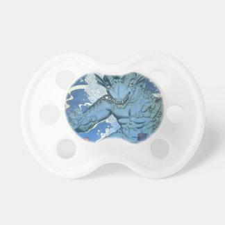 Blue Gorgo Pacifier