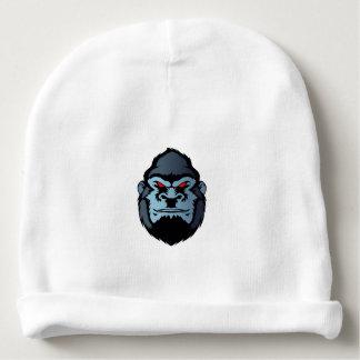 blue gorilla head baby beanie
