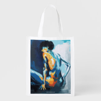 Blue Grace Reusable Grocery Bags