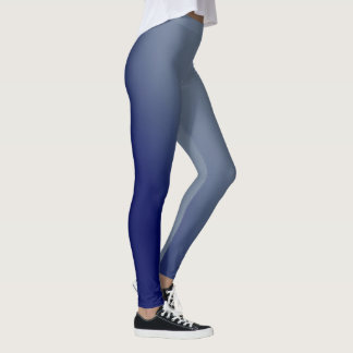 Blue Gradient Leggings