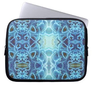 Blue Graffiti Laptop Sleeve