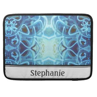Blue Graffiti MacBook Pro Sleeve