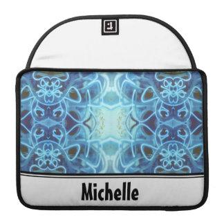 Blue Graffiti MacBook Pro Sleeves