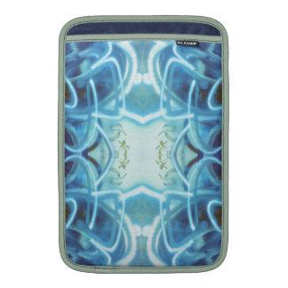 Blue Graffiti MacBook Sleeve