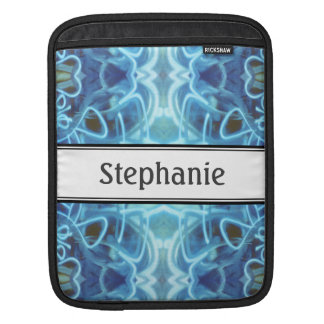 Blue Graffiti Sleeves For iPads