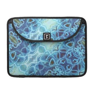 Blue Graffiti Sleeves For MacBook Pro