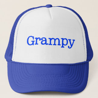 Blue Grampy Trucker Hat
