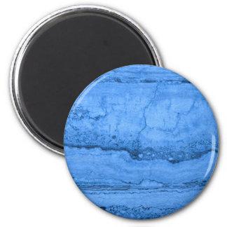 Blue granite 2 inch round magnet