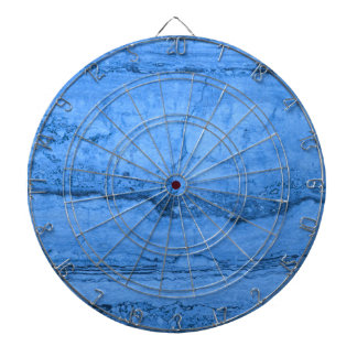 Blue granite dart boards