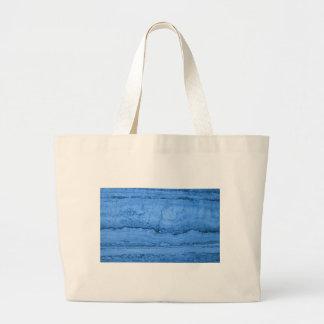 Blue granite large tote bag