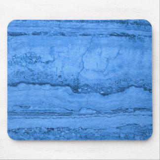 Blue granite mouse pad