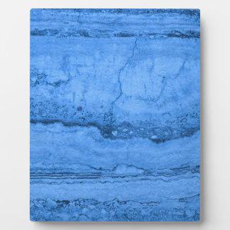 Blue granite photo plaques