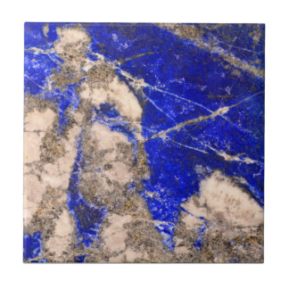 Blue granite tile