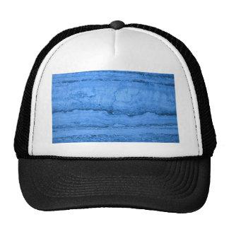 Blue granite trucker hat