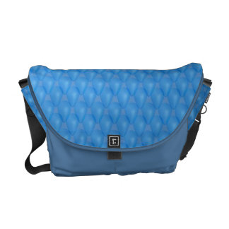 Blue Graphic Design Commuter Bag