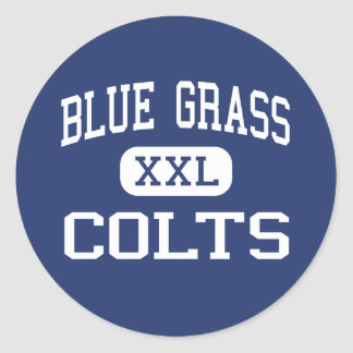 Blue Grass Colts Middle Elizabethtown Classic Round Sticker