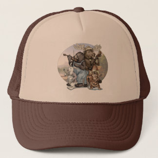 Blue Grass Critters by Mudge Studios Trucker Hat