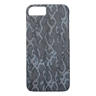 Blue Gray Snake Skin Case-Mate iPhone Case