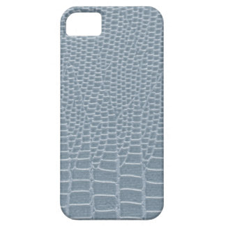 Blue gray snakeskin iPhone 5 cover
