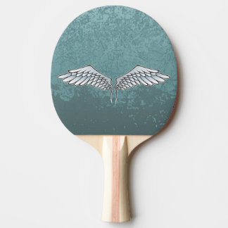 Blue-gray wings ping pong paddle