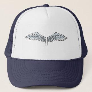 Blue-gray wings trucker hat
