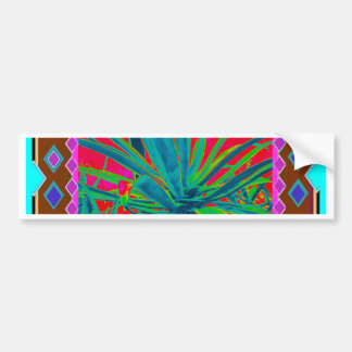 Blue-Green Agave Cacti Art Gifts by Sharles Bumper Sticker