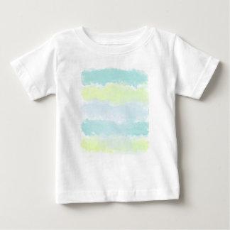 Blue Green Azur Watercolor Baby T-Shirt