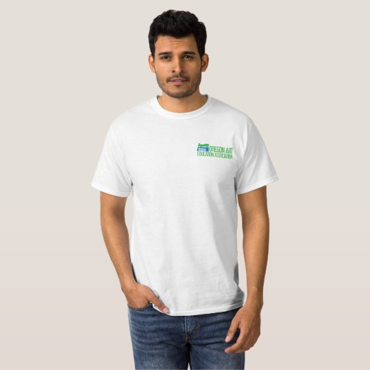 Blue/Green Brush Logo T-Shirt