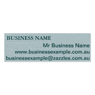 Blue/Green Business Cards