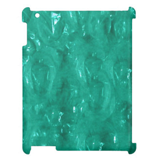 Blue green cellophane iPad covers