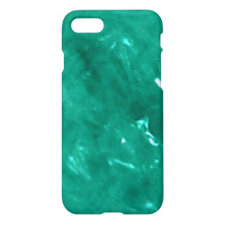 Blue green cellophane iPhone 7 case