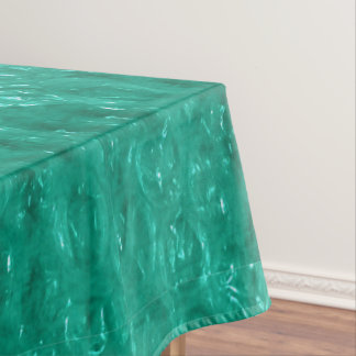 Blue Green Cellophane Tablecloth