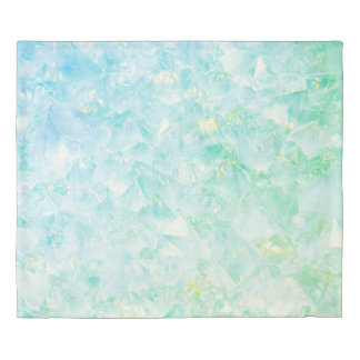 Blue/Green Crystal Duvet Cover