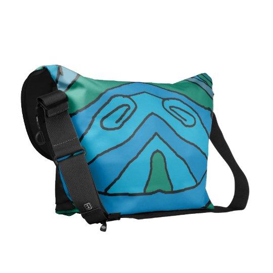 Blue & Green Delight Commuter Bags