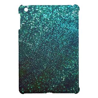 Blue/Green Glitter Print Sparkle iPad Mini Case For The iPad Mini