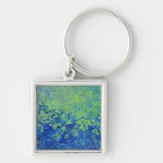Blue Green Keychain