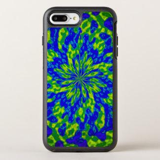 Blue Green Mandala OtterBox Symmetry iPhone 7 Plus Case